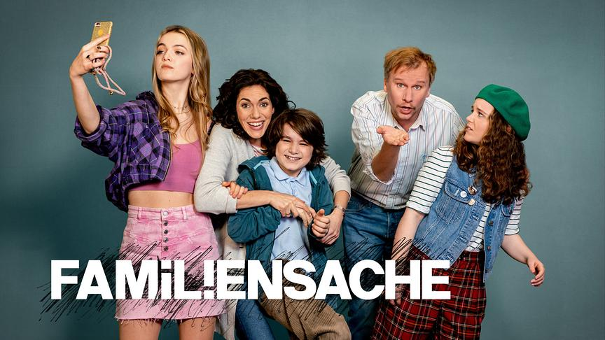 """Hauptdarsteller der Serie """"Familiensache"""""""
