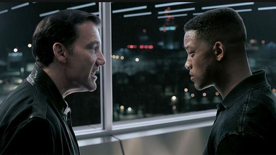 Im Bild: Clive Owen (Clay Verris), Will Smith (Henry Brogan / Junior).